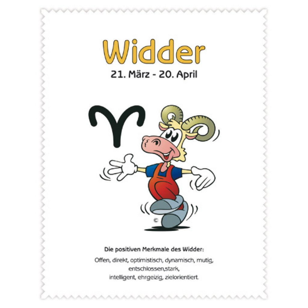 Widder single frau