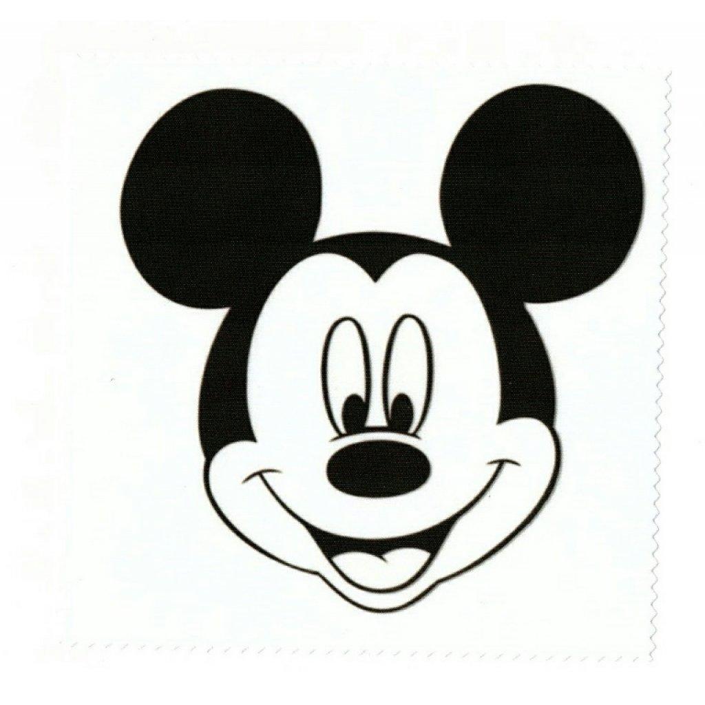 Microfasertuch zum Brille reinigen - Motiv Mickey Mouse