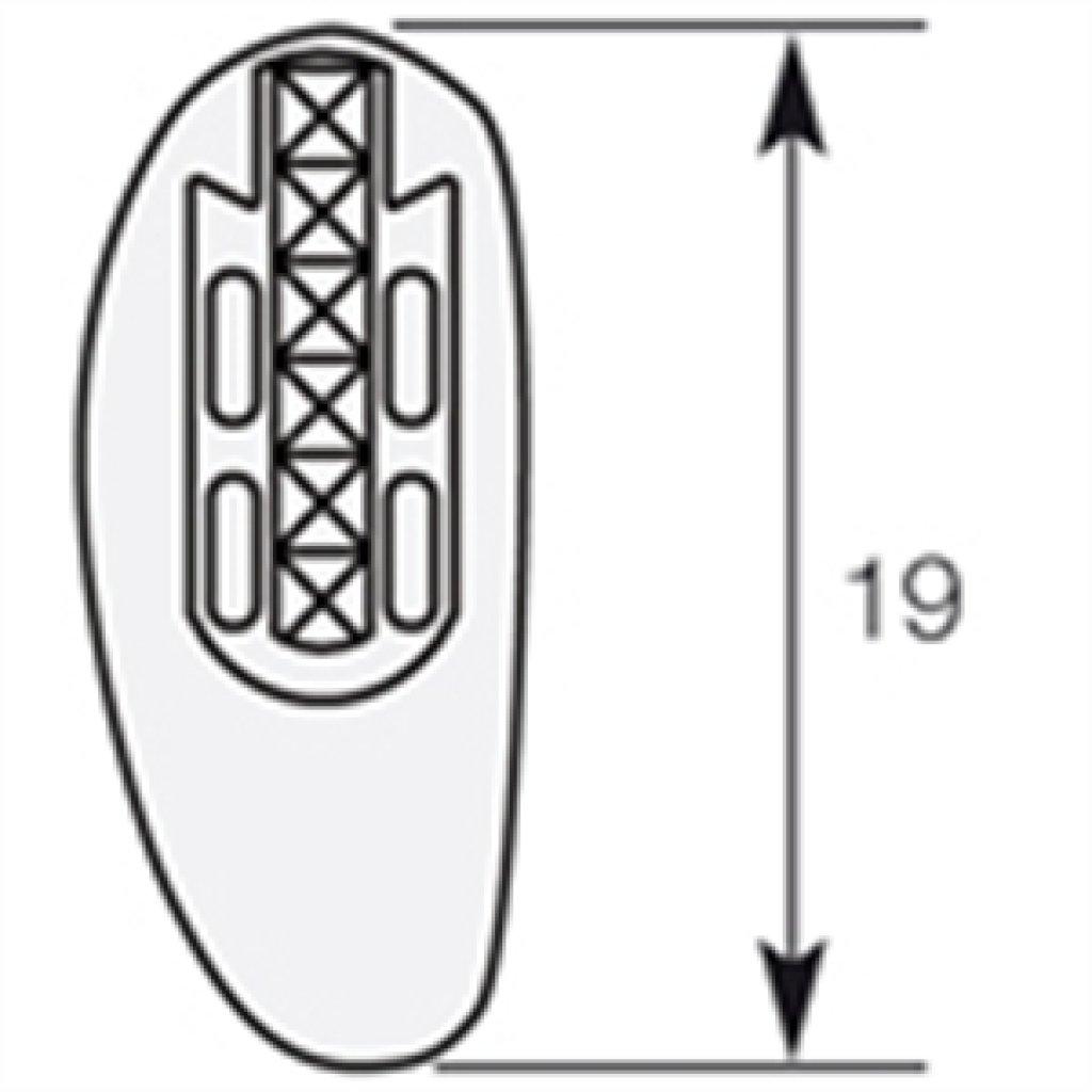nasenpads zum aufstecken aus silikon 1 54. Black Bedroom Furniture Sets. Home Design Ideas