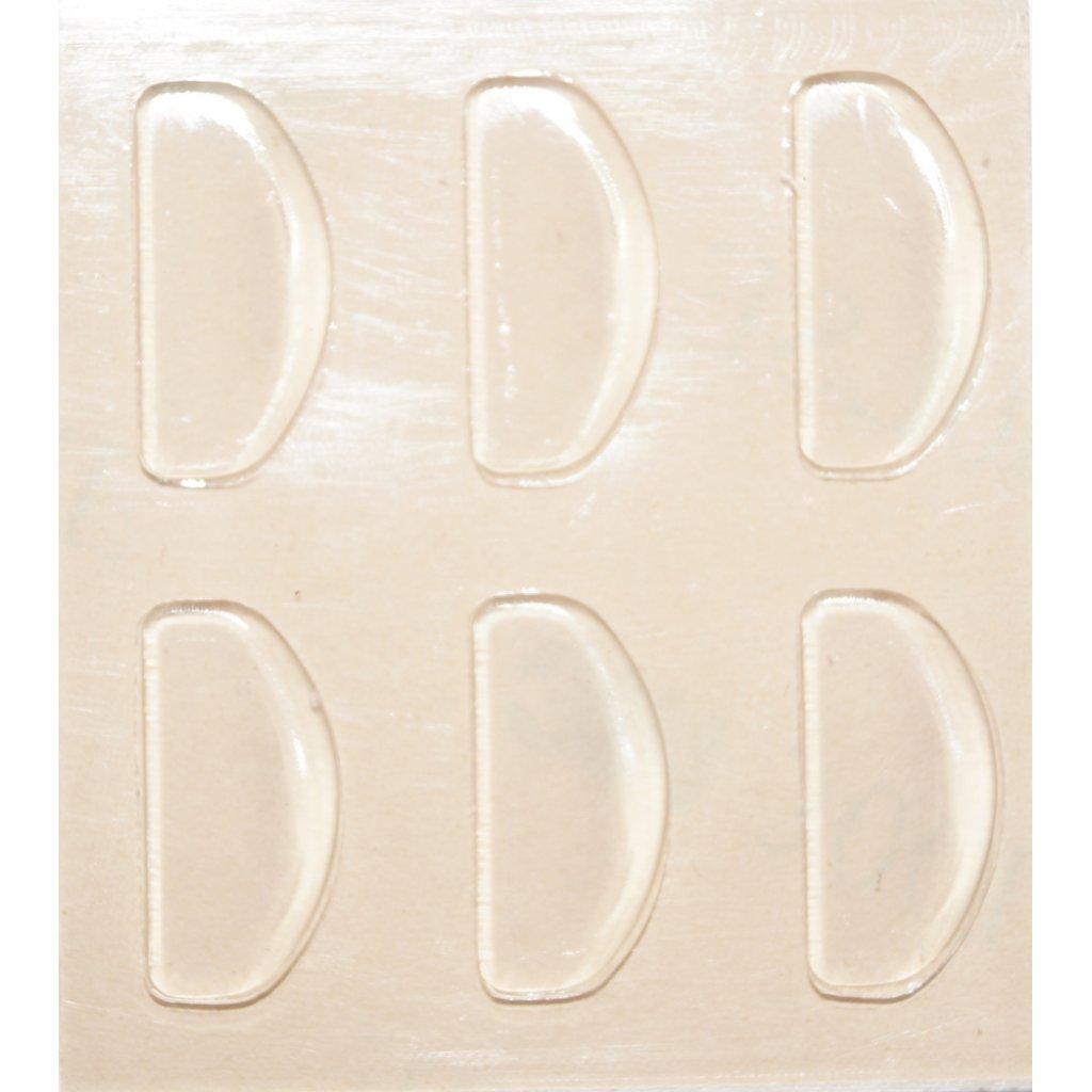 3m nasenpads zum aufkleben halbrund keilf rmig. Black Bedroom Furniture Sets. Home Design Ideas