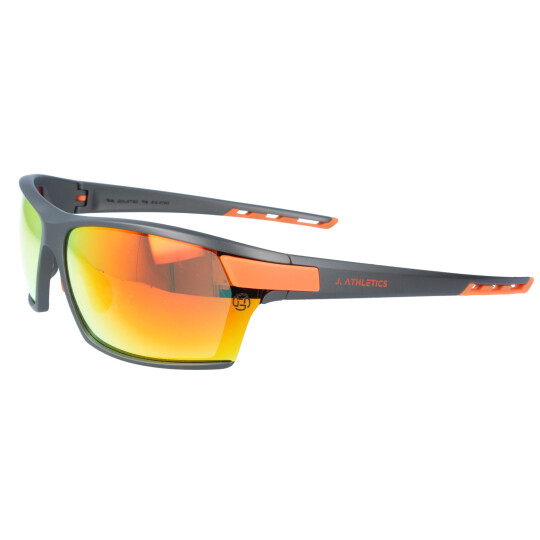 J. ATHLETICS - Sonnenbrille ROCKET C4 3308 Grau - Orange...