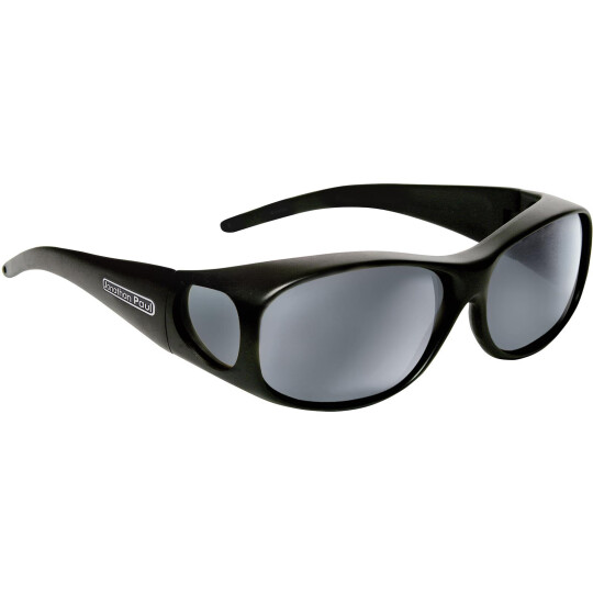 Jonathan Paul ELEMENT Überbrille - M - Oval Matte Black - Grau