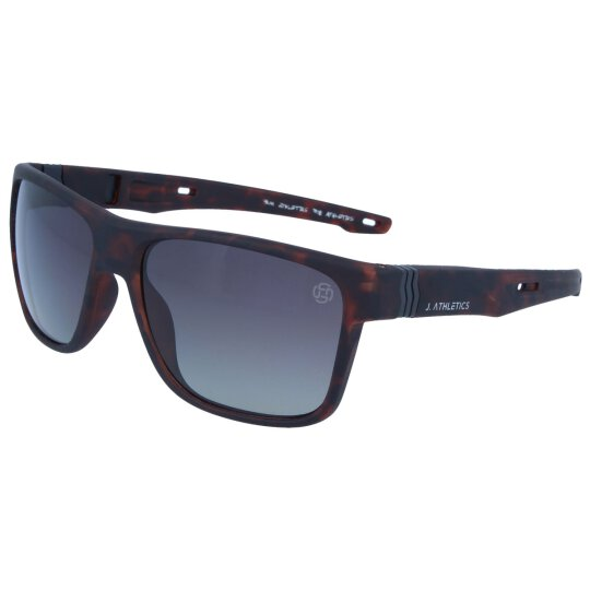 J. ATHLETICS - Sonnenbrille SUNSET C4  3309 Havanna-Grau...
