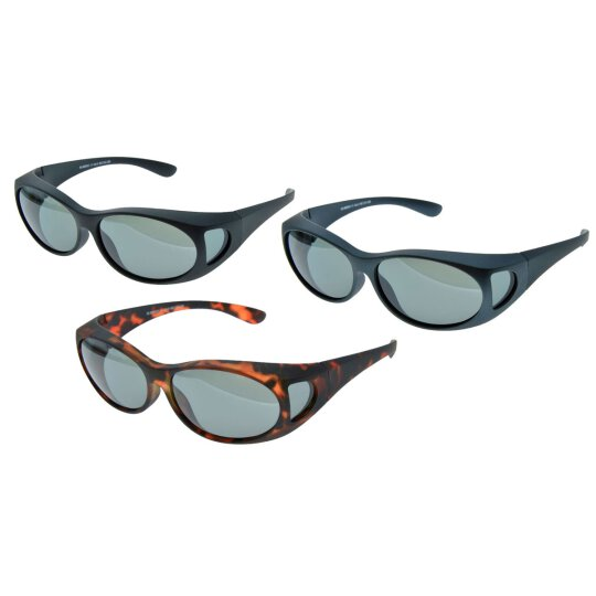 Solarprotection Überbrille - oval |  + MF-Beutel