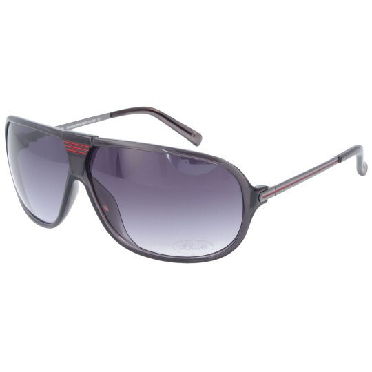 S.Oliver  98875-00830 Sonnenbrille in Grau Rot
