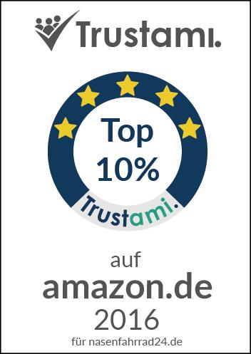 Trustami Händlerauszeichnung 2016